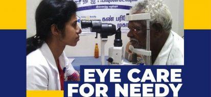 Eye Care for the Needy – Rajalakshmi Nethralaya