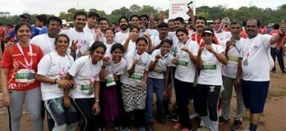 The Eye Foundation @ Coimbatore Marathon 2018