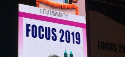 Dr Chitra Ramamurthy at Annual Conference of Bombay Ophthalmic Association