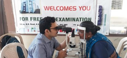 Free Cataract Surgery Camp at Thondamuthur