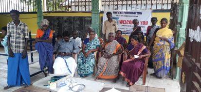 Free Cataract Surgery Screening camp at Pollachi