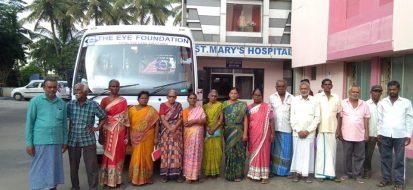 Free Cataract Surgery camp at St. Mary's Hospital
