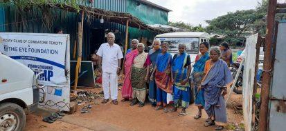 Free Cataract Surgery Camp at Kavundampalayam