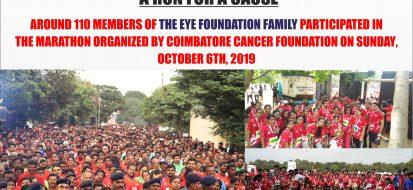 A Run for a Cause: Coimbatore Marathon 2019