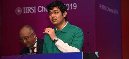 Dr Shreyas Ramamurthy in opl session at iirsi 2019