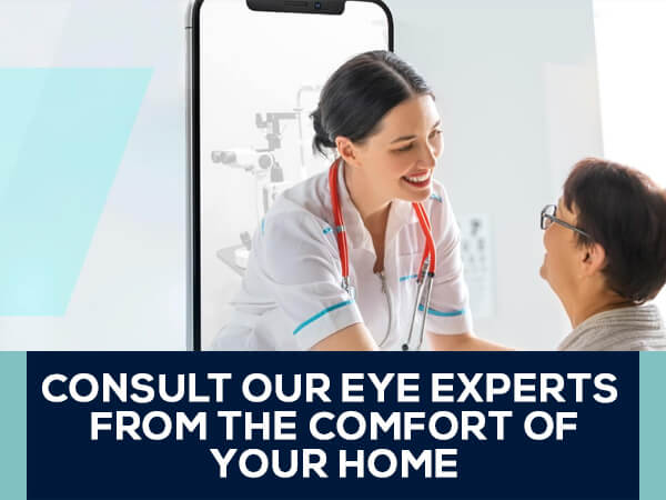 Eye Experts From Comfort Of Your Home